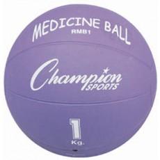 Champion 1 Kilo / 2 lb. Rubber Medicine Ball, RMB1