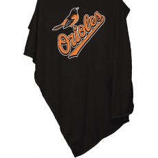 Baltimore Orioles Sweatshirt Blanket