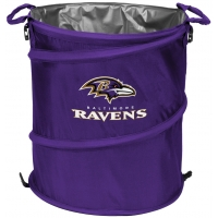 Baltimore Ravens NFL Collapsible 3-in-1 Hamper/Cooler/Trashcan
