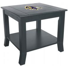Baltimore Ravens NFL Hardwood Side/End Table