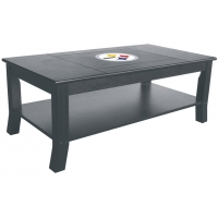 Pittsburgh Steelers NFL Hardwood Coffee Table