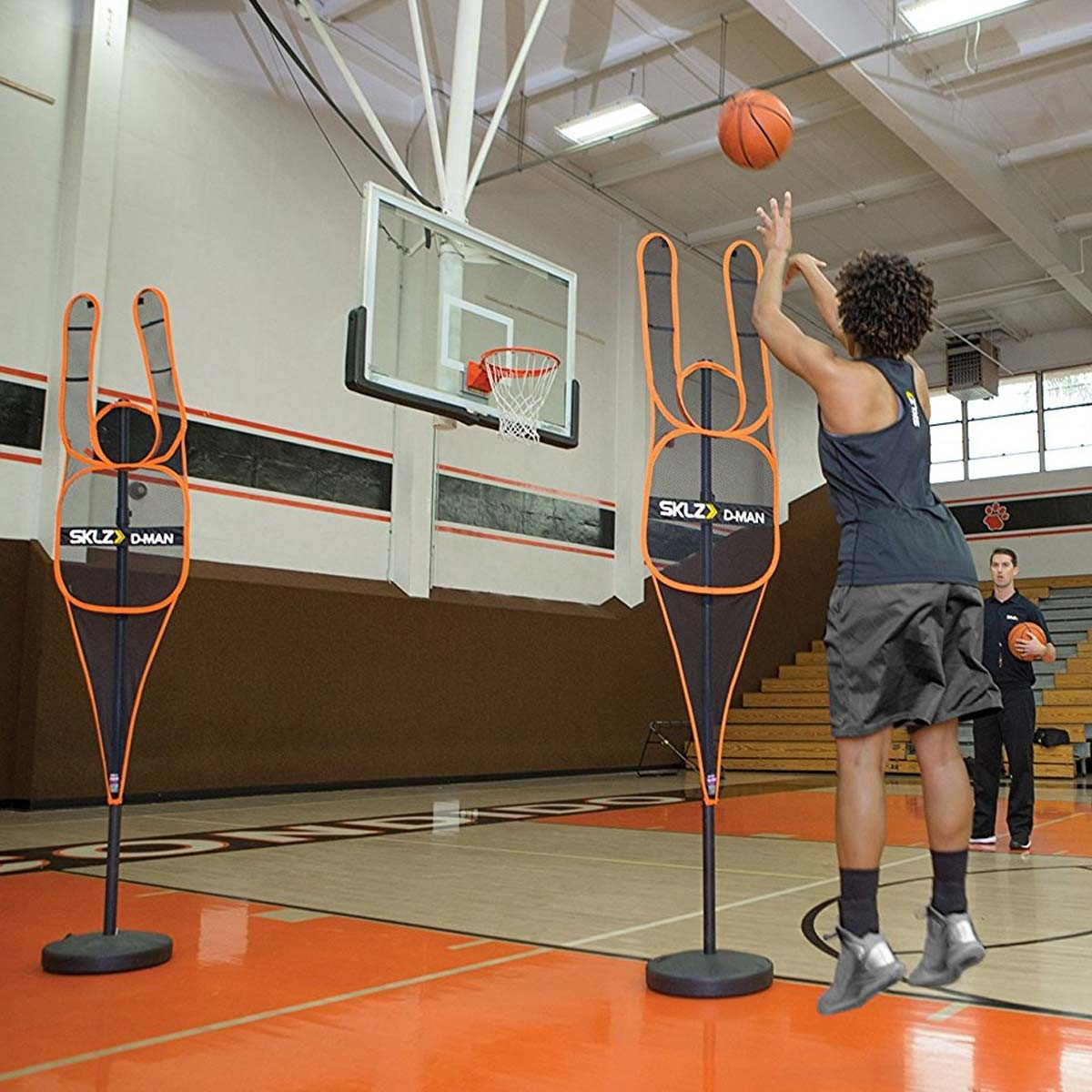 Sklz D Man Basketball Hands Up Training Mannequin