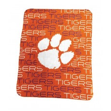 Classic Fleece Blanket, Clemson University