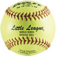 "Dudley SB 11 47/375 Fastpitch Little League Softballs, Leather, 11"", dz"