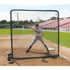 Deluxe Baseball Protective Screen, Frame & Net, 7' x 7'
