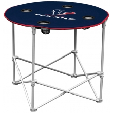 Houston Texans NFL Pop-Up/Folding Round Table
