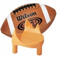 Football Sidewinder Kicking Tee, RIGHT FOOT