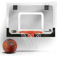 "SKLZ Pro Mini Hoop XL Pro-Grade Mini Basketball Hoop, 23""W x 16""H"