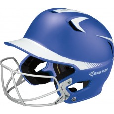 Easton Z5 Grip SENIOR Two Tone Fastpitch Batting Helmet w/ Facemask