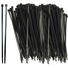 "Aer-Flo 1,000pk 8"" Tie Wraps for Windscreen"