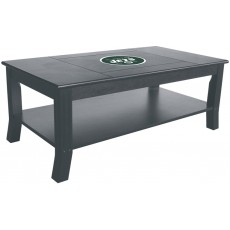 New York Jets NFL Hardwood Coffee Table