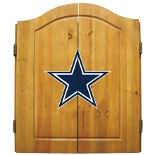 Dallas Cowboys NFL Dartboard Cabinet Set