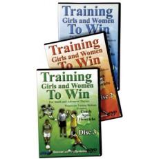 Training Girls and Women to Win, 3 DVD set