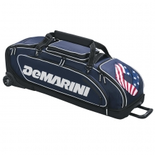"DeMarini Special Ops Wheeled Bag, 38.5""Lx15""Wx12""H"