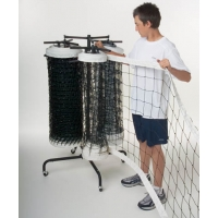 Volleyball Net Storage Carts, TRIPLE