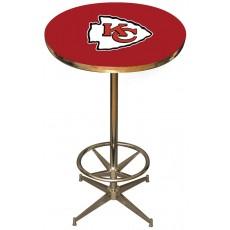 Kansas City Chiefs NFL Pub Table