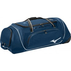 "Mizuno Samurai 4 Wheeled Catcher's Equipment Bag, 35""L x 14""H x 12""W"