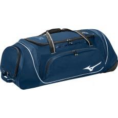 "Mizuno Samurai 4 Wheeled Catcher's Equipment Bag, 360179, 35""L x 14""H x 12""W"