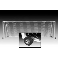 Kwik Goal (pair) 8x24 Evolution EVO 1.1 Soccer Goals w/ Wheels, 2B3306W