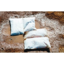 White Line Ball Field Puddle Pillow