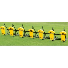 Fisher CL7M JV Football Blocking Sled - MAN PAD, 7 MAN