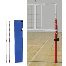 "Jaypro 3"" Classic Steel Pin-Stop Volleyball Steel Net System, PVB-3000"