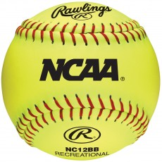 "Rawlings Fastpitch Practice Softballs 47/400, 12"", dz"