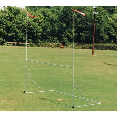 "Portable Practice Football Goal Post, COLLEGE: 20'H x 18'6""W x 8'D"