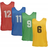 Champion Numbered Scrimmage Vest Pinnies, YOUTH