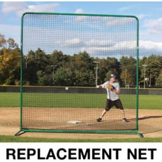ProMounds Deluxe Square Protective Screen REPLACEMENT NET, 10' x 10'