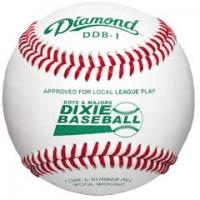 Diamond DDB1 Dixie Boys & Majors Competition Grade Baseball, dz