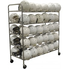 Jaypro FHC-1 Football Helmet Storage Rack, Holds 60 Helmets