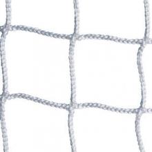 Kwik Goal 6.5' x 18.5' x 2' x 6.5' Soccer Nets, 3mm, WHITE, 3B5721 (pr)