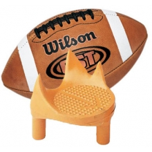 Football Sidewinder Kicking Tee. LEFT FOOT