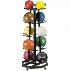 Champion MBR3 Medicine Ball Storage Cart Rack, Holds 20