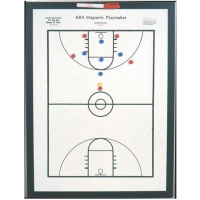 "KBA Magnetic Playmaker Basketball Coaching Board, 18"" x 24"""
