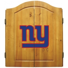 New York Giants NFL Dartboard Cabinet Set