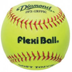 "Diamond DFX-12RFPSC Flexi Ball Synthetic Softball, 12"", dz"
