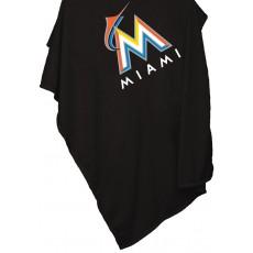 Miami Marlins Sweatshirt Blanket