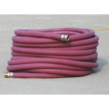 White Line Red Watering Hose, 50'