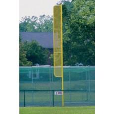 Jaypro 30'H Pro-Style Baseball Foul Poles, 1246 (pair)