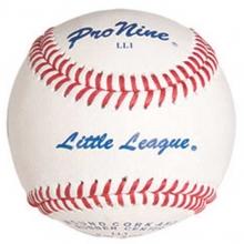 Pro Nine LL1 Official Little League Baseballs, dz