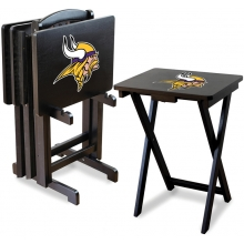 Minnesota Vikings NFL TV Snack Tray/Table Set