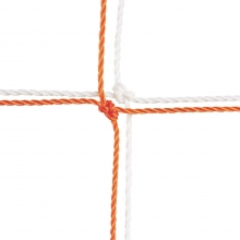 Champion 204 Official Soccer Nets, 3.5mm, 8' x 24' x 4' x 10' (pr)