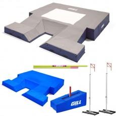 "Gill G1 20' x 21'11"" x 32"" Pole Vault Pit Value Pack, VP66217"