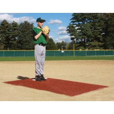 "Promounds MP3003C Major League Game Mound, CLAY, 8'3""L x 5'W x 6""H"