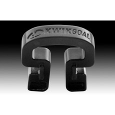 Kwik Goal 10B3106 Bulk Kwik Lock Soccer Net Clips, BLACK, pack of 100