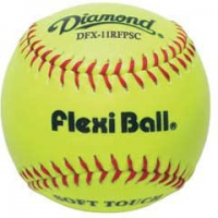 "Diamond DFX-11RFPSC Flexi Ball Softball, 11"", dz"