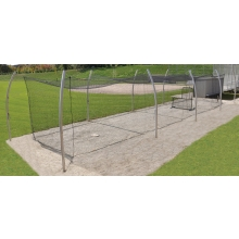 Jaypro PROTF-55 Professional Outdoor Batting Cage Tunnel Frame, 55'L