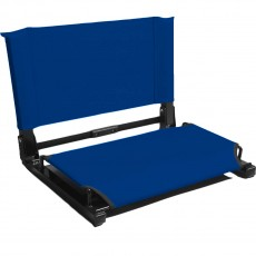 "Stadium Chair Bleacher Seat (WSC1), DELUXE MODEL (3"" wider)"
